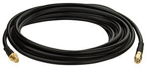 כבל מאריך לאנטנות 3 מטר זכר נקבה Advice SMA-EXT-3M SMA Extension cable Male to Female