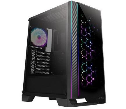 מחשב למסחר בבורסה עבודה בשוק ההון לעבודה עד 8 צגים מעבד אינטל דור 11 Gigabyte B560M D3H Antec NX600 Gaming Case Intel Eight Core i7-11700 4.8GHz SSD 512GB NVME 16GB DDR4 N-Vidia Quadro P620 4xDisplayPort HDMI