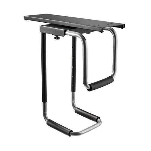 מעמד מנשא למחשב נייח חיבור מתחת לשולחן חוסך מקום רב יותר לשולחן העבודה שלך Lumi CPB-16 HEAVY-DUTY UNDER-DESK CPU MOUNT WITH SLIDING TRACK