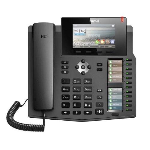 טלפון חוטי איי פי לעסקים פאנוויל FANVIL X6 IP Phone