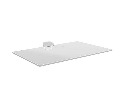 מדף זכוכית לבנה למכשירי אודיו וידאו ממירים Barkan BI8W AV  Glass Shelf
