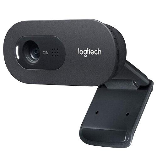 מצלמת רשת ומיקרופון מובנה לשיחות ועידה באינטרנט לוג'יטק Logitech Webcam C270I HD Video 720p