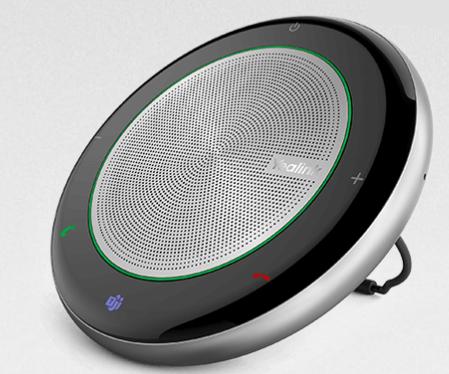רמקול נייד מקצועי ספיקרפון חוטי ו-Bluetooth לשיחות ועידה עד 4 אנשים יילינק Yealink CP700 Medium Level Portable Speakerphone for up to 4 people