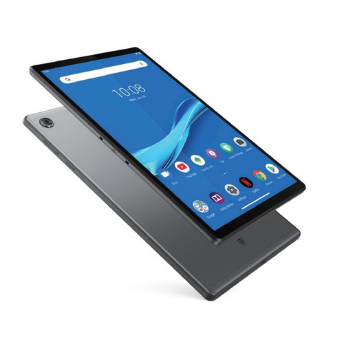 טאבלט מסך מגע לנובו Lenovo Tablet IP Tab M10 FHD Plus 2 X606F ZA5T0150IL 10.3 Inch Full HD Helio P22T 2.3GHZ 4GB RAM 128GB eMMC Android 9 Pie Iron Grey