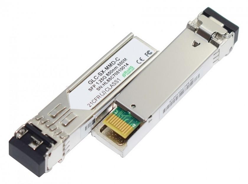 מיני ג'ביק טרנסיבר SFP (מיניג'ביק) ל-1000Base-SX 1.25G MM 550M תעשייתי SFP101-550