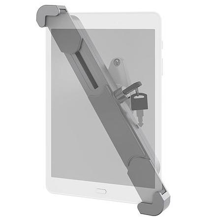 זרוע קבועה נגד גניבות עם מנגנון נעילה לטאבלט ברקן 360 מעלות לקיר צבע לבן  ''Barkan T50VL 12-7