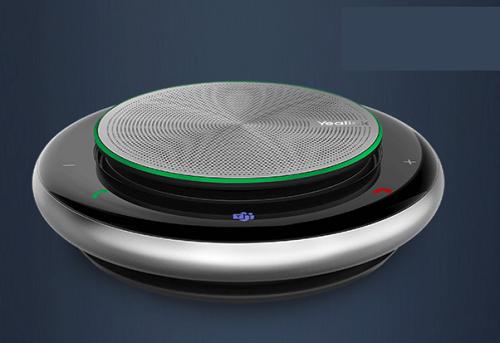 רמקול נייד מקצועי ספיקרפון חוטי ו-Bluetooth לשיחות ועידה עד 6 אנשים יילינק Yealink CP900 Premium Level Portable Speakerphone Ideal for on-the-go and meetings of up to 6 people USB , Option Dongle Bluetooth