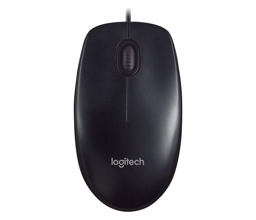 עכבר חוטי לוג'יטק שחור Logitech M90 USB Black