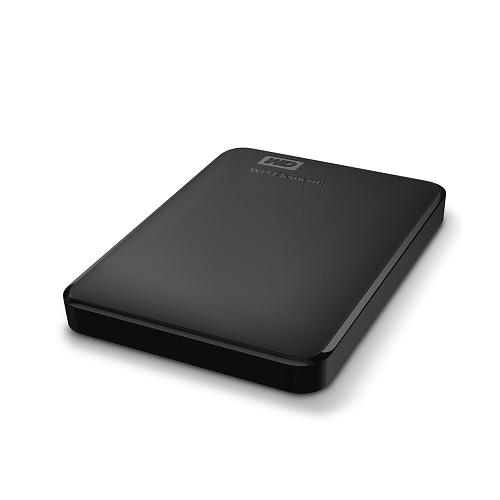 כונן קשיח חיצוני 2.5'' Western Digital Elements WDBUZG0010BBK-WESN 1TB HDD External Hard Drive USB 3.0