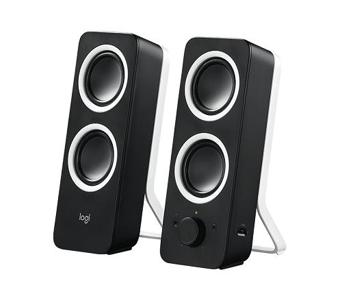 רמקול מולטימדיה למחשב לוג'יטק שחור Logitech Multimedia Speakers Z200 10W
